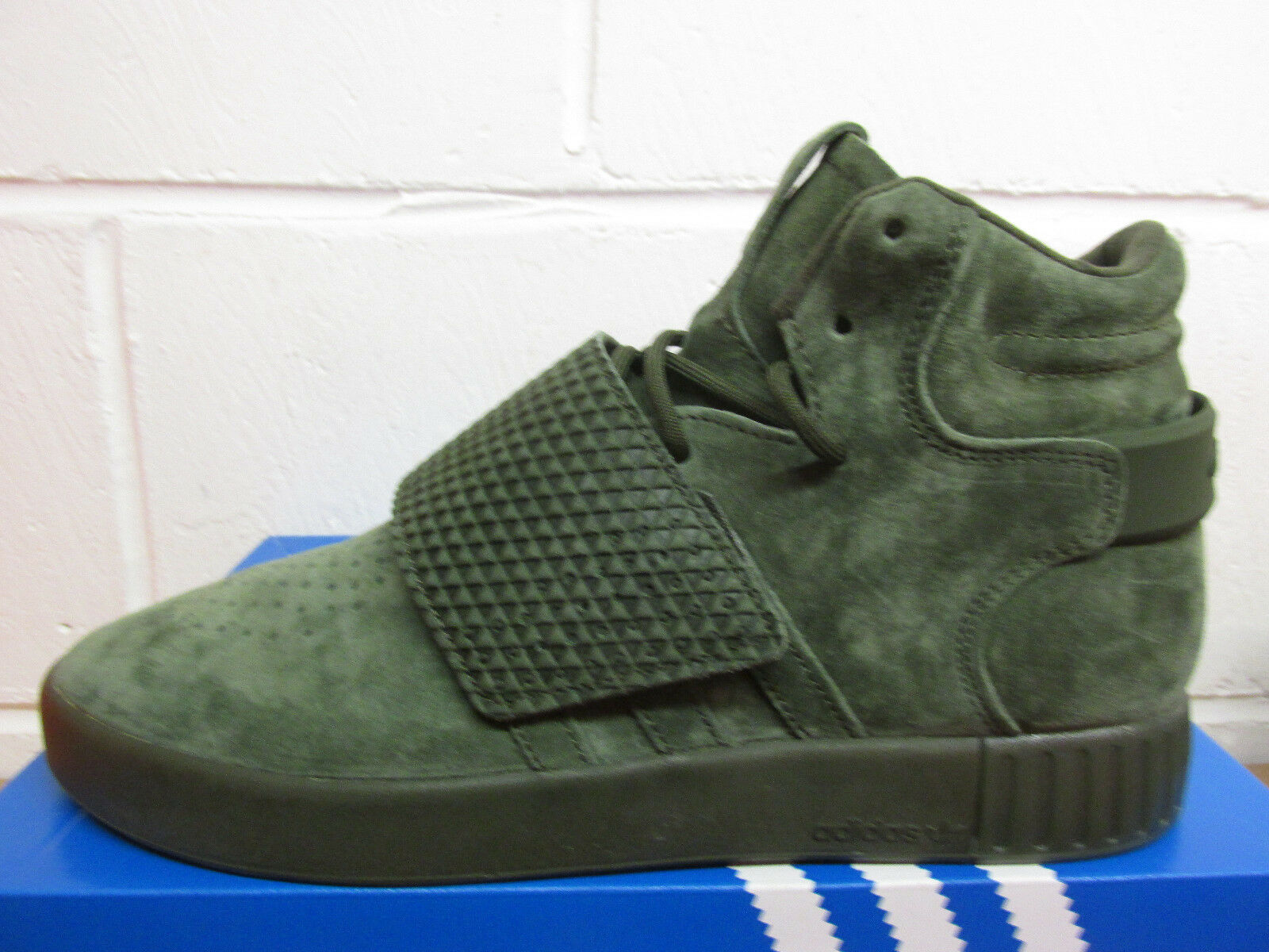 Adidas Originals Tubular Invader Strap Strap Strap Hi Top Trainers BB1171 Sneakers Shoes 967bfb