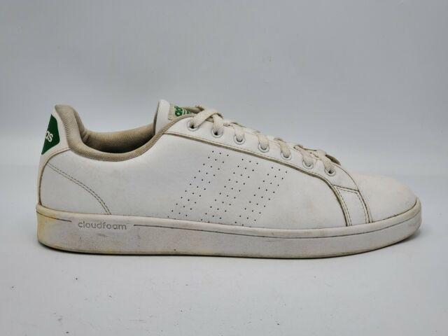 Size 13 - adidas Cloudfoam Advantage Clean Footwear White