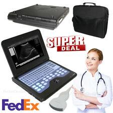 Laptop Ultrasound Machine Notebook Digital Ultrasound Scanner 35 Convex Probe