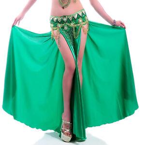 C220-Bauchtanz-Kostuem-Rock-Tribal-Fasching-Karneval-Belly-Dance-Skirt-Dress