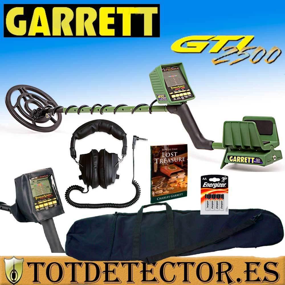 Detector de Metales Garrett GTI 2500 + 5 Accesorios