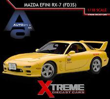AUTOART 75966 1:18 MAZDA EFINI RX-7 (FD3S) NEW ANIMATION FILM INITIAL D