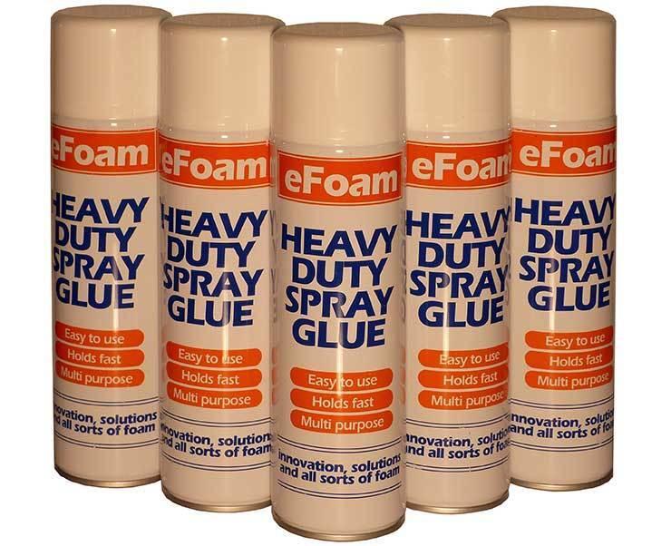 500ml HEAVY DUTY SPRAY ADHESIVE GLUE FOR FOAM CARPET TILE CRAFT FABRIC PACKAGING