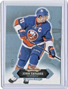 2016-17-UD-Fleer-Showcase-15-John-Tavares-New-York-Islanders-Hockey-1-25-BLUE