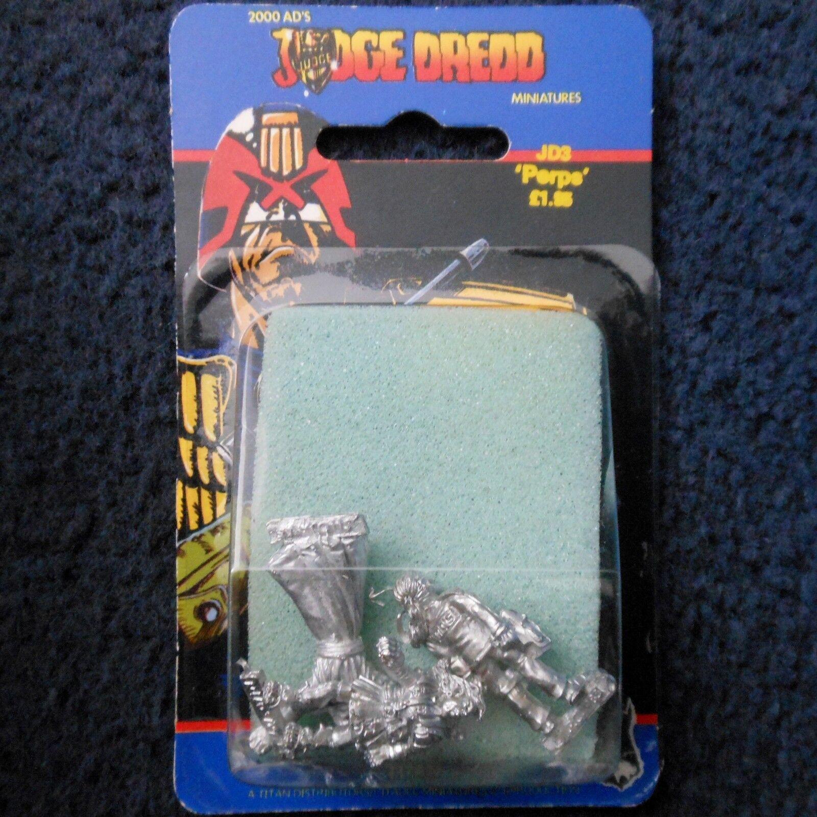 1985 GIUDICE DREDD JD3 colpevoli shojan Games Workshop Yamagata 2000 D.C. JUVE FUMETTO Nuovo di zecca con scatola