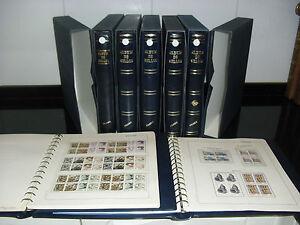 COLECCIoN-DE-ESPANA-ANOS-1976-1998-NUEVOS-EN-BL-DE-4-SIN-FIJASELLOS