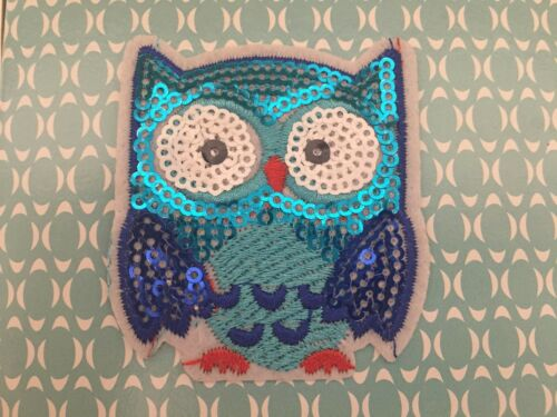 Owl Embroidered Iron On Patch owl Applique embroidered patch owl patch