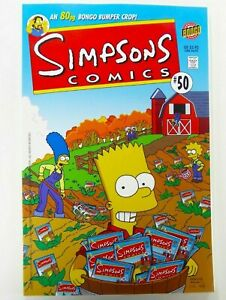 BONGO-Comics-THE-SIMPSONS-1993-50-Key-UNREAD-NM-9-4-Ships-FREE