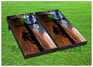 Image Is Loading Vinyl Beanbag Board Wraps Lineman Electricity Linemen