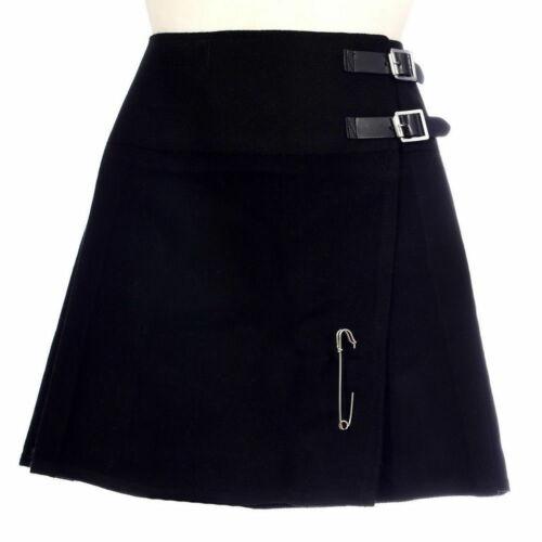Scottish Ladies Mini Billie Kilt Skirt 16/'/' Various Tartan Free Kilt Pin 26-48