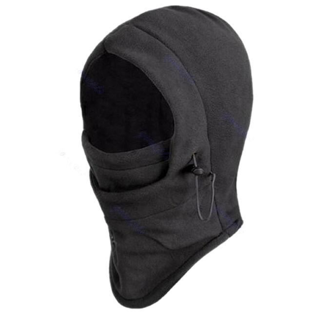 NEW Fleece Thermal Balaclava Hood Police Swat Ski Bike Wind Stopper Face Mask