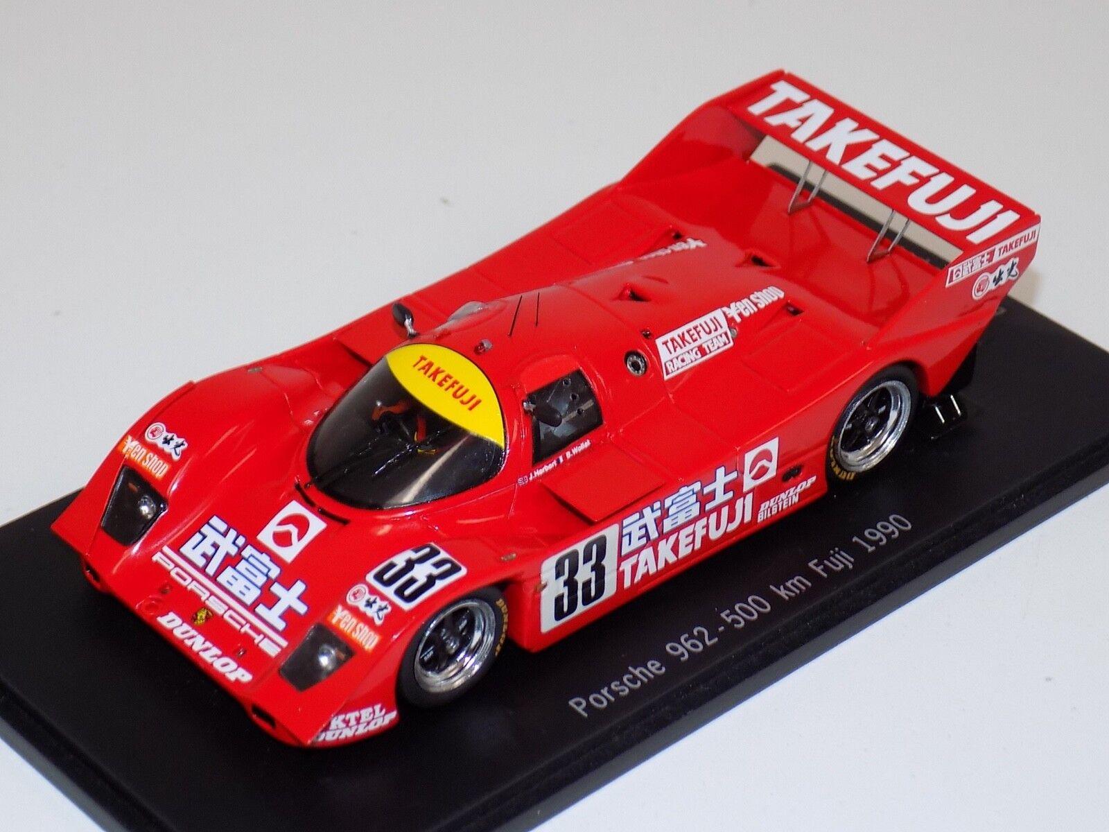 1/43 Spark Porsche 962   1990 500Km Fuji  CA-WOL-11