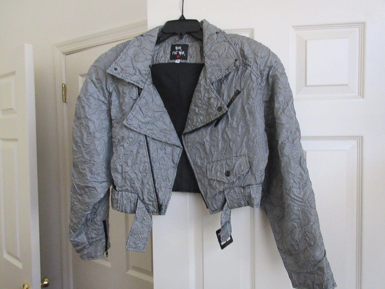 Noir C'Est Noir , Vintage , Ladies Jacket , Funky , Uni