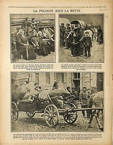 Exodus-Exode-Farmers-Poland-Warsaw-Deutsches-Heer-Imperial-Russia-Army-1916-WWI