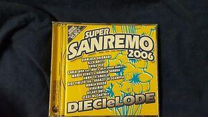 COMPILATION-SUPER-SANREMO-2006-DIECI-E-LODE-OXA-BRITTI-TATANGELO-CD