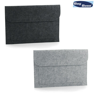 Bagbase Felt Laptop/document Slip Bg726 Heller Glanz