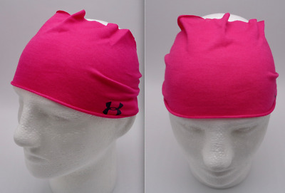 UNDER ARMOUR Women/'s Studio Performance Headband Color Pink Dark Blue Size OSFM