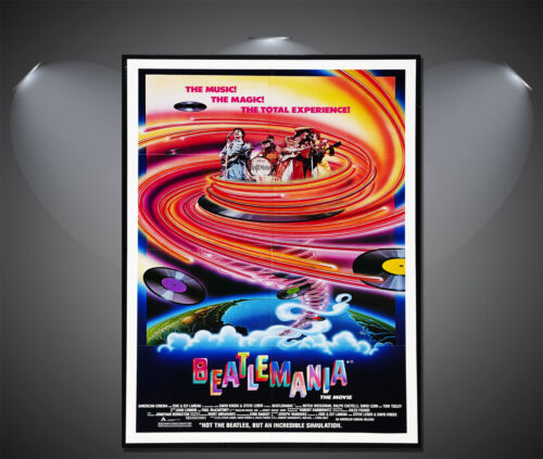 A3 A2 A4 Sizes A1 The Beatles Beatlemania Vintage Movie Poster