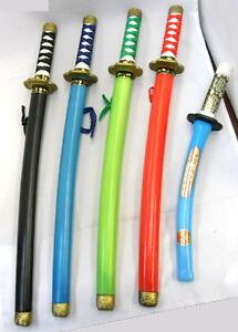 Toy-Plastic-Ninja-Sword-knife-costume-play-Katana-SAMURAI-Martial-Weapon-1-PC