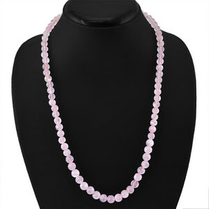 FINEST-200-00-CTS-NATURAL-RICH-PINK-ROSE-QUARTZ-UNTREATED-ROUND-BEADS-NECKLACE