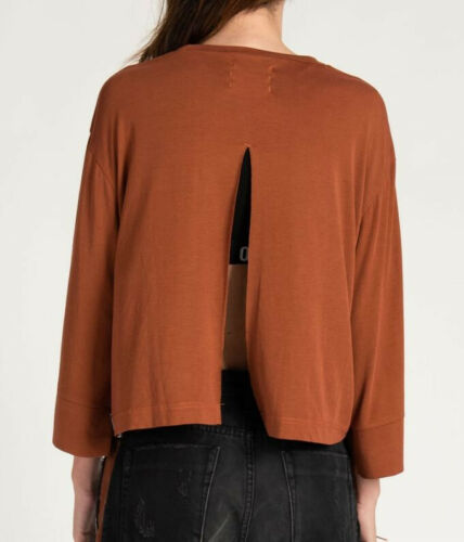 Top Buffalo Size Back Split Brown Mslouchy Teaspoon 20405 S Womens One SgwCqIP