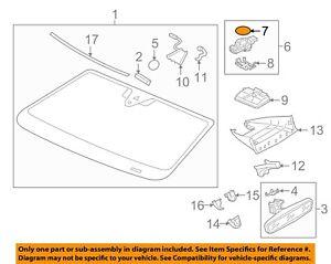 Genuine VW SKODA SEAT Amarok Ameo Arteon Atlas rain sensor gel foil 7N0955609