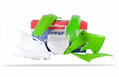 Polisport Plastic Kit Set Green KAWASAKI KX250F 2004–2005