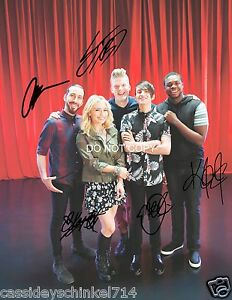 Details about Pentatonix a cappella band Reprint Signed 8x10