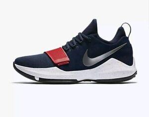 ab7da6334e77 Chargement de l image Men-Nike-PG1-Paul-George-Basketball-Shoes-Size-
