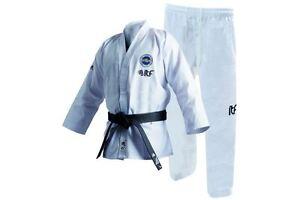 TOP TEN ITF Taekwondo Dobok Gi STUDENT Uniform KYONG Mens Womens Child TKD White