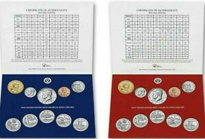 2019-P-amp-D-20-Coin-Annual-Uncirculated-Coin-Sets-No-034-W-034-Cent-US-Mint-Box
