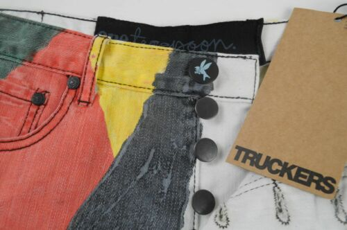 11 a 7 Trucker Nuovo di paio Un Au Shorts taglia Limited 29 9334856254401 bicchierini Usa 8 Jeans qpHBSF