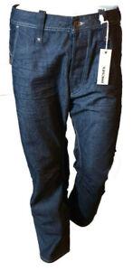 Jeans-DIESEL-Casual-Pantalone-Uomo-Gualbon-Gamba-Dritta-Bottoni-Blu-Scuro-Tag-45