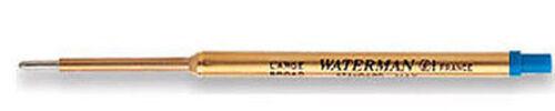 Ball Pen Med Blue x 6 Waterman Ballpoint Pen Refills