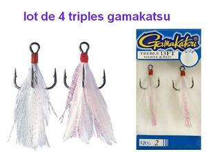 lot-de-4-Hamecons-Triple-GAMAKATSU-13-FT-monte-mouche