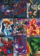 1995 Flair Marvel Annual Universe Base Power Duo Blast & Chromium Pick From List