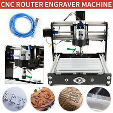 Desktop Mini Engraving Machine Router Engraver Cutting Pvc Metal 3 Axis Router