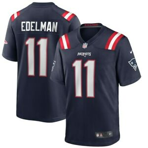 Details about Julian Edelman New England Patriots Nike Game Jersey - Navy NWT