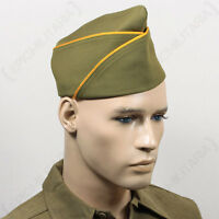 Ww2 Us Px Type Garrison Cap - Cavalry - Repro Military Army Usa American Hat