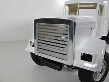 Custom Aluminum Front Grill Mesh Guard Plate for Tamiya 1/14 Semi King Hauler