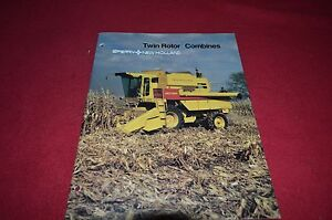 New Holland TR86 TR98 Twin Rotor Combine Dealer/'s Brochure DCPA2 3-85