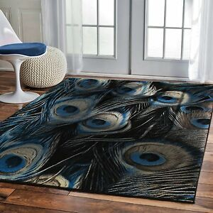 Luxury 8x11 Contemporary Rug For Living Room Black Rug