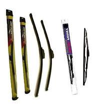 2004-2009 Toyota Sienna Van Frt & Rr (3) Saver Brand Wiper Blades