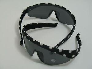 Haarreif-brille Cabrio Ski Schwarz Weiß Neu Ovp Sonnenbrille Mit Uv-schutz Kleidung, Helme & Schutz Auto & Motorrad: Teile