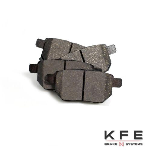 FRONT REAR Ceramic Disc Brake Pad Premium Fits Toyota Prius CT200h KFE1184-1423