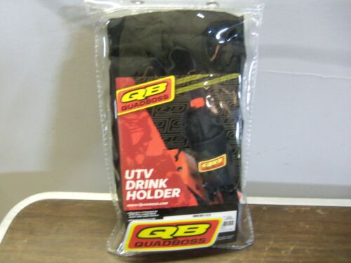 BLACK NSULATED ATTACHES TO UTV ROLL CAGES UTV DRINK HOLDER