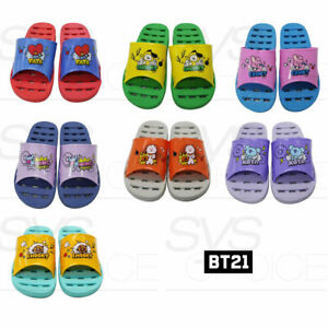 BTS-BT21-Official-Authentic-Goods-Bathroom-Slippers-Free-Size-7Characters