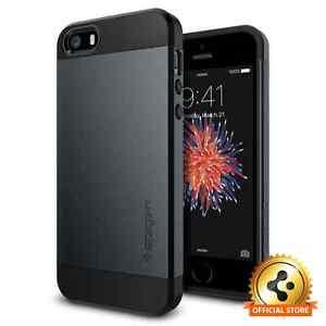 Spigen-For-Apple-iPhone-SE-5s-5-Slim-Armor-Shockproof-Cover-Slim-TPU-Case