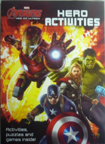 1 of 1 - Marvel Avengers Age of Ultron Colourful Activity Book.32 Pages of Fun Activities