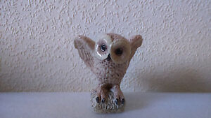 Heredities The Charm Of Creamware Owl figurine (Tom Mackie)